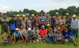 Rimba Raya Reserve | Community Initiative | Fire Brigade | Training, January 2016