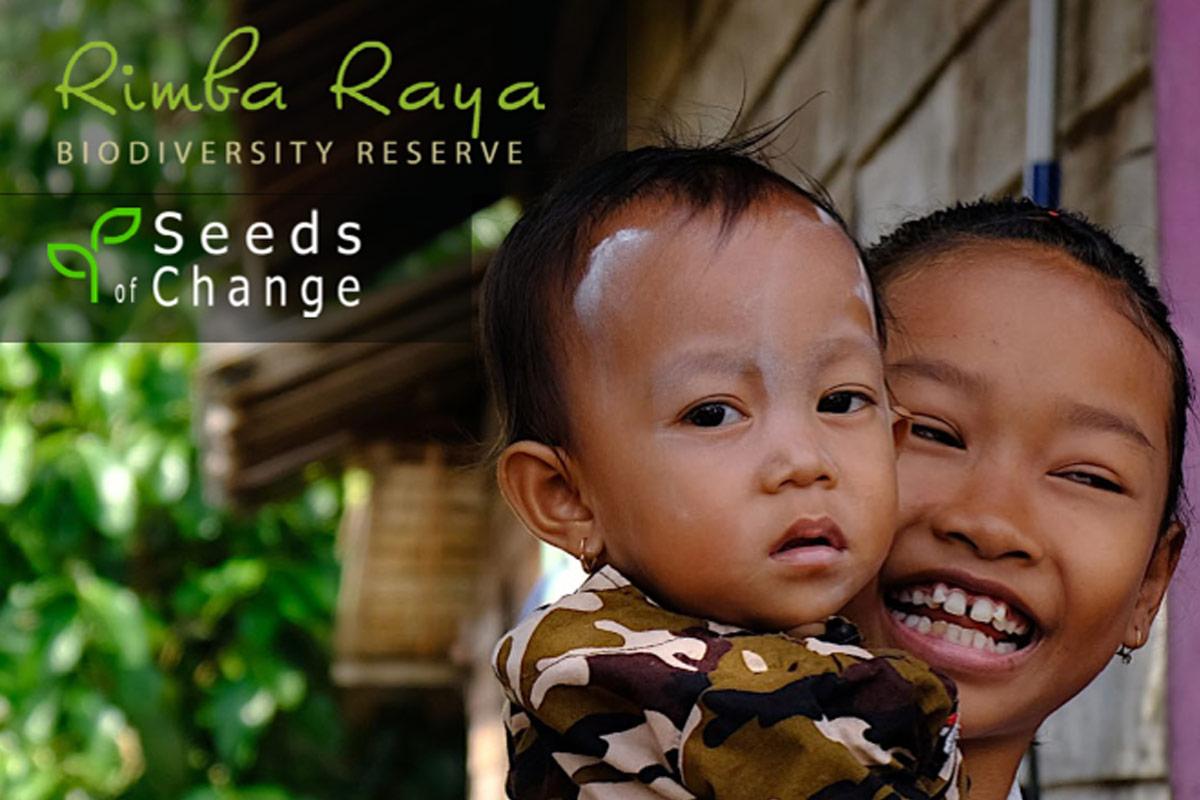 rimba raya seeds of change newsletter march 2021 header