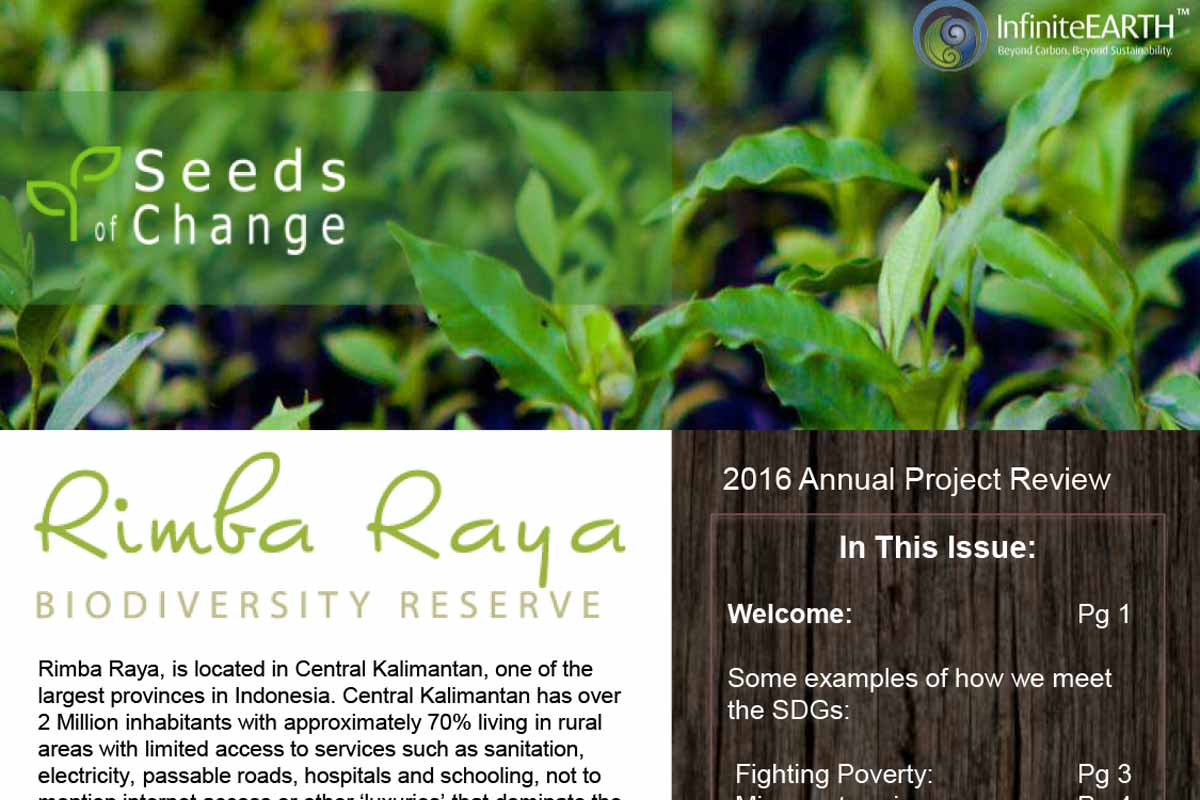 Seeds of Change Newsletter – Year End 2016